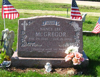 Custom Granite Grave Stone - Pembroke NH