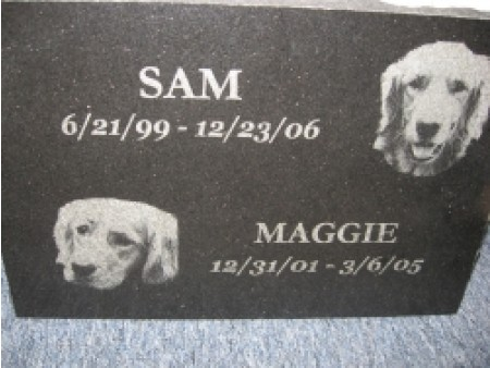 Black Pet Marker with etching